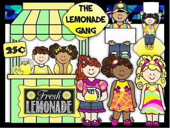 Clip Art~ Lemonade Gang