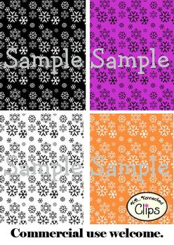 Clip Art - Let it Snow Paper Collection