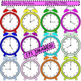 Clip Art Let's Tell Time