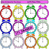 Clip Art Let's Tell Time