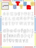 Clip Art Letters (FONTS)