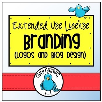 Clip Art License for Branding - Chirp Graphics