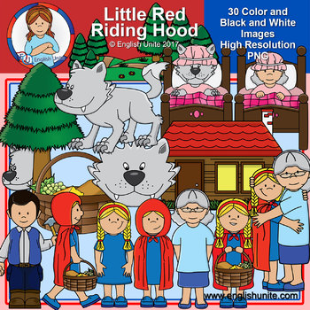 Clip Art - Little Red Riding Hood