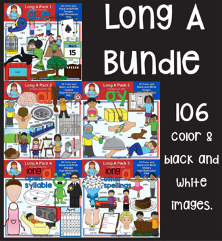 Clip Art - Long A Bundle
