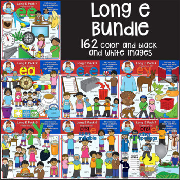 Clip Art - Long E Bundle