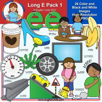 Clip Art - Long E Pack 1 (ee)