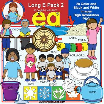 Clip Art - Long E Pack 2 (ea)