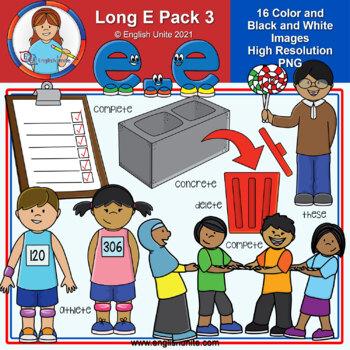 Clip Art - Long E Pack 3 (e-e)