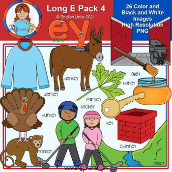 Clip Art - Long E Pack 4 (ey)