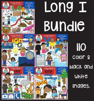Clip Art - Long I Bundle
