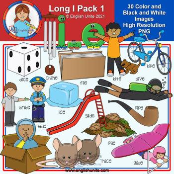 Clip Art - Long I Pack 1 (i-e)