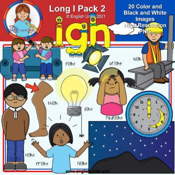 Clip Art - Long I Pack 2 (igh)