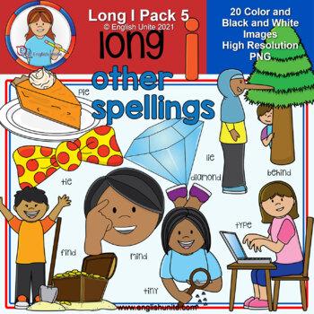 Clip Art - Long I Pack 5 (other spellings)