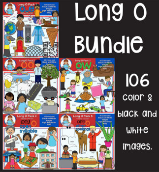 Clip Art - Long O Bundle