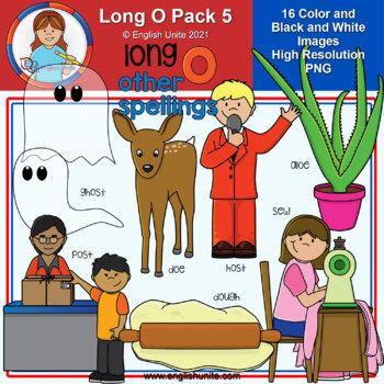 Clip Art - Long O Pack 5 (other spellings)