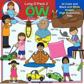 Clip Art - Long O pack 3 (ow)
