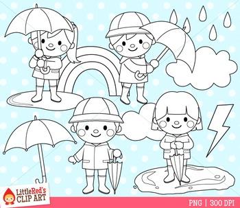 Rainy Day Clip Art