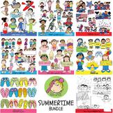 Clip Art MEGA BUNDLE SUMMER FUN (Karen's Kids Clip Art)