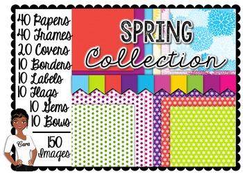 Clip Art~ MEGA Spring Collection Teacher Design Kit