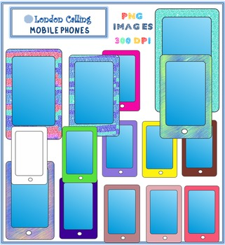 Clip Art - MOBILE PHONES