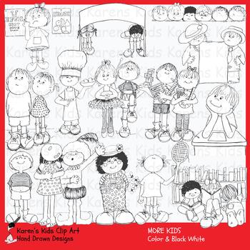Clip Art MORE KIDS