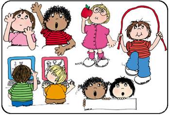 Clip Art MORE SCHOOL DAYS KIDS