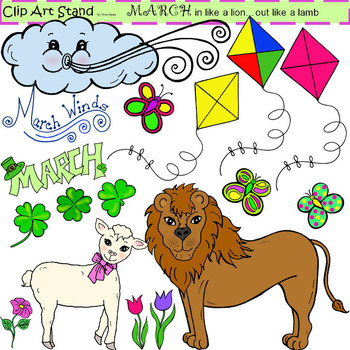 In Like A Lion Out Like A Lamb Art Projects