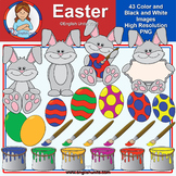 Clip Art - March Freebie (Easter)