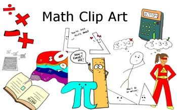Clip Art- Math Comics and Images