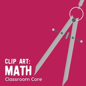 Clip Art: Math Images, Basic Operations, Shapes, & Tools