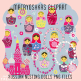 Clip Art: Matryoshkas