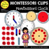 Clip Art: Montessori Clock