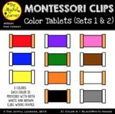 Clip Art: Montessori Color Tablets (Boxes 1 & 2)