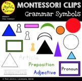 Clip Art: Montessori Grammar Symbols