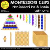 Clip Art: Montessori Math Beads with Wire