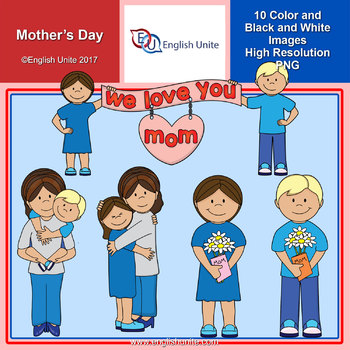 Clip Art - Mother's Day Freebie