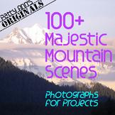 Clip Art Photos MOUNTAIN NW Scenes > 50 Amazing Photograph