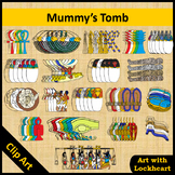 Clip Art: Mummy's Tomb