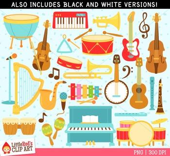 Musical Instruments Clip Art