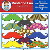 Clip Art - Mustache Fun