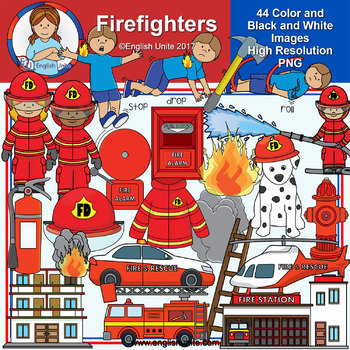 Clip Art - Firefighters