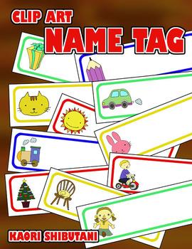 Clip Art: Name Tag