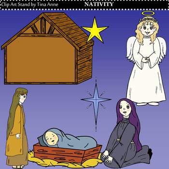 Clip Art Nativity