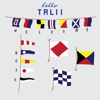 Clip Art: Nautical Flags and Pennants