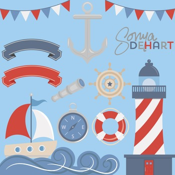 Clipart - Nautical Set