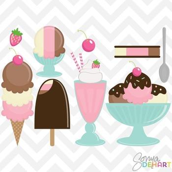 Clipart - Neapolitan Ice Cream