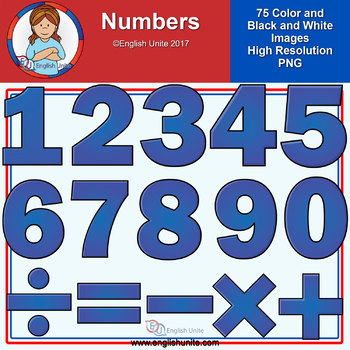 Clip Art - Numbers