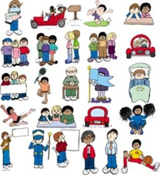Clip Art OLDER KIDS