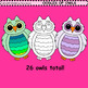 Clip Art Oodles of Owls
