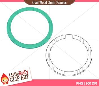 Oval Frames Clipart